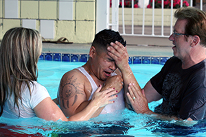 Jimmy's Motel Church Baptism