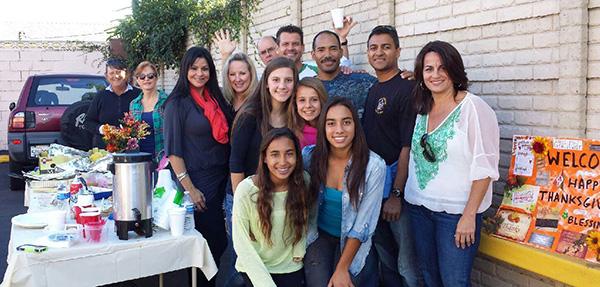 Motel Church Thanksgiving 2013 Volunteers