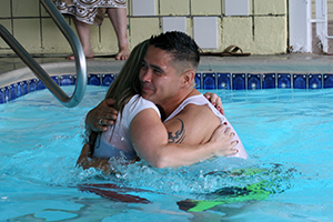 Jimmy's Motel Church Baptism